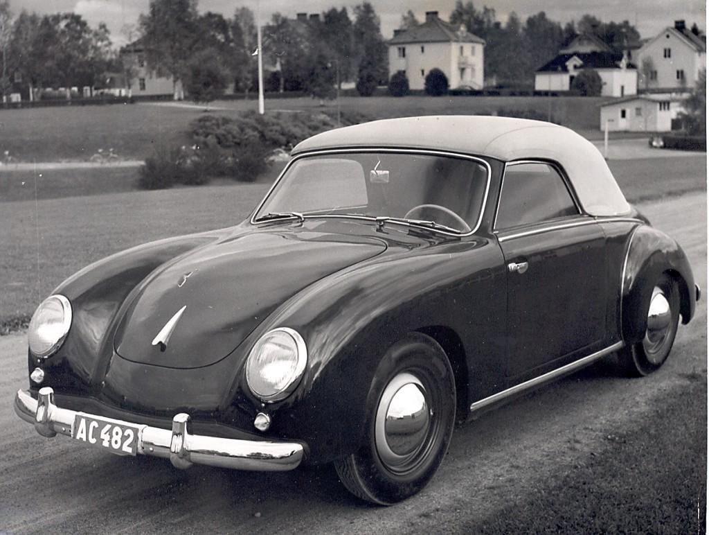 Unikt bygge på VW. Dannenhauer & Stauss 1954