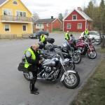 25 Maj. Till Rosvik för ett fika.